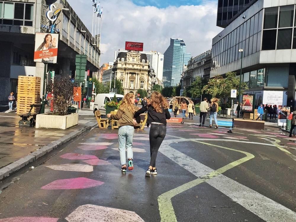 tienerwandeling door Brussel