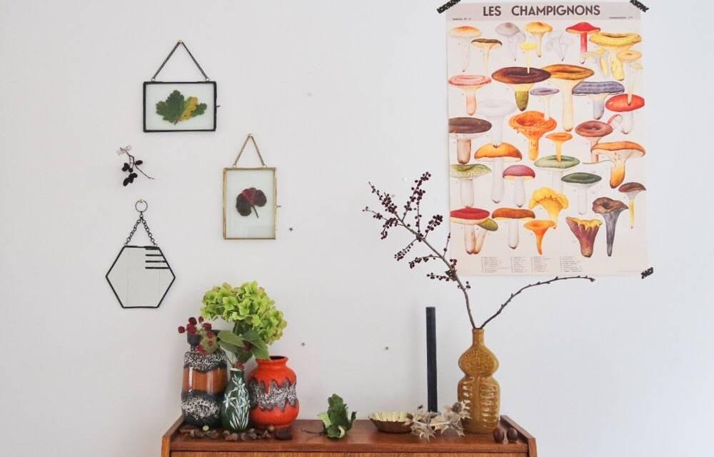 """DIY: een herfst tafereeltje voor """"grown ups"""""""