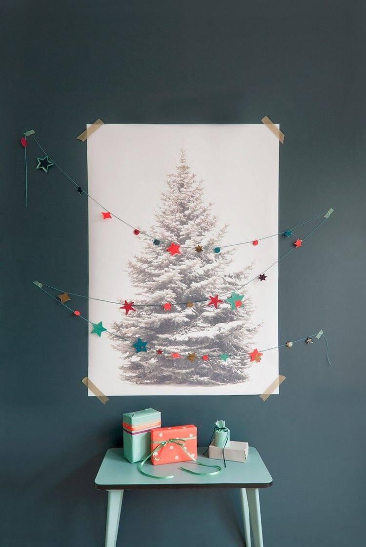 christmas tree poster - OHimP