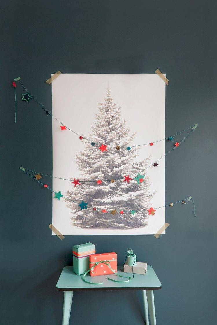 christmas tree poster - OHimP