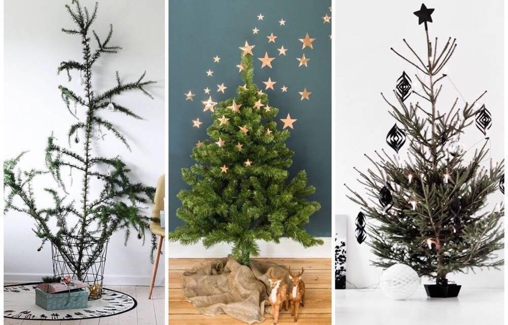 Hip & happening: minimalistische kerstboom