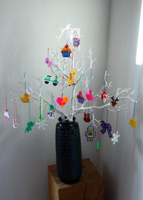 strijkkralen kerst knutselen