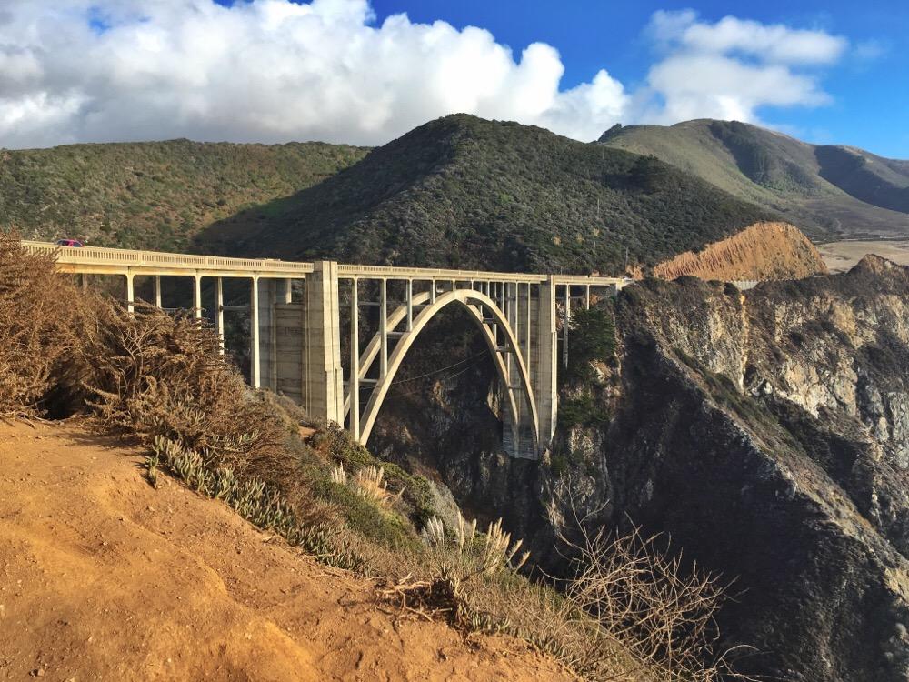 must-see stops Highway 1 - Bixby Bridge - OHIMP