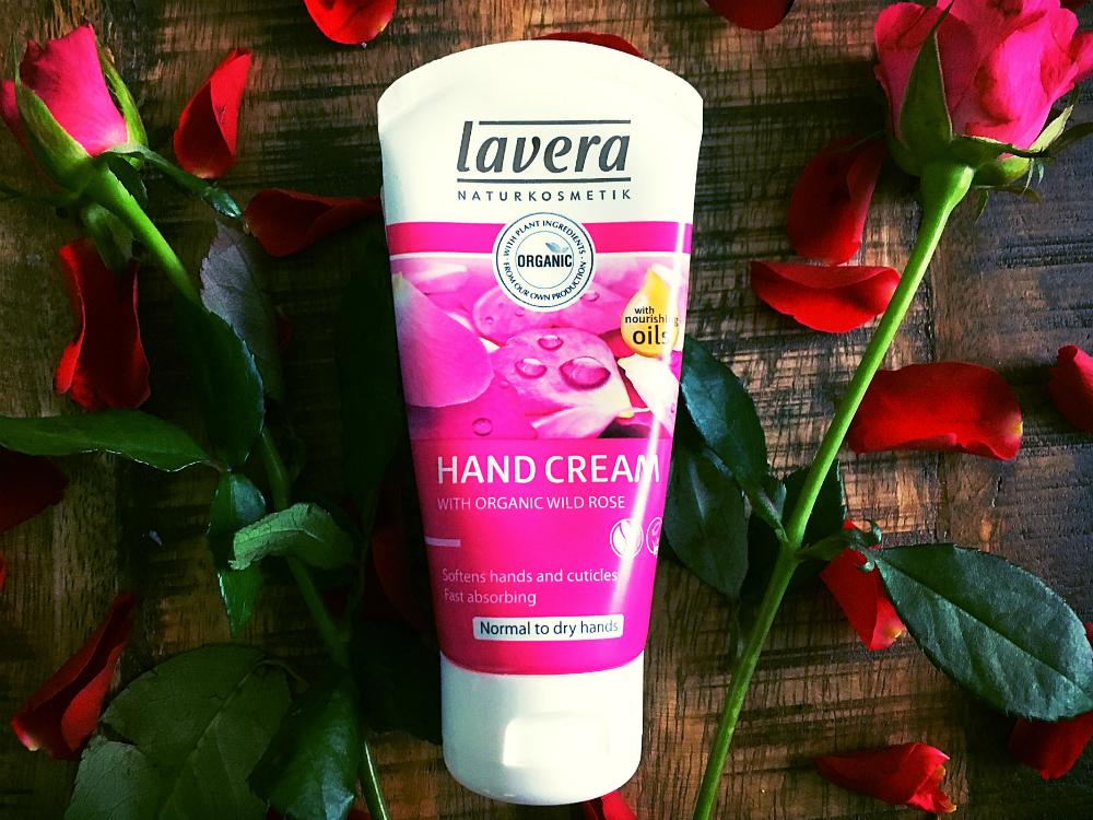 lavera handcreme rozen