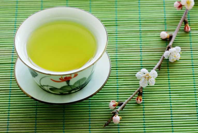 afvallen met groene thee