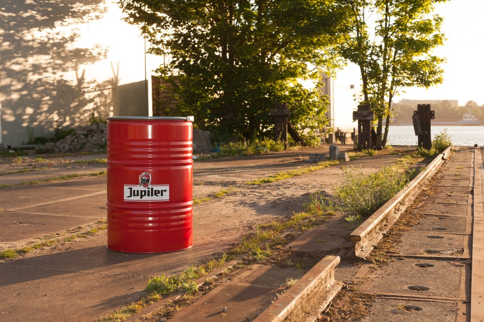 Jupiler barbecue