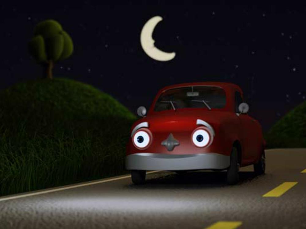 rijden in het donker