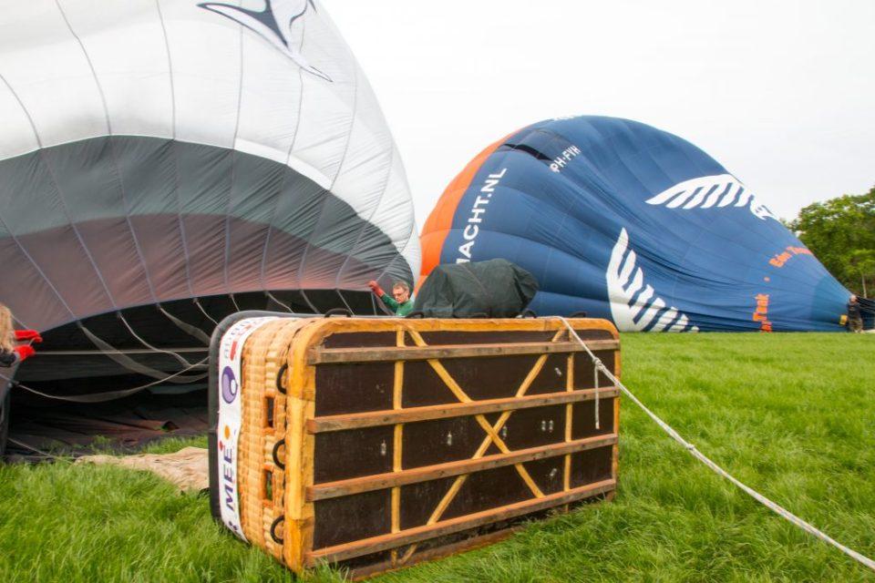 luchtballon opblazen