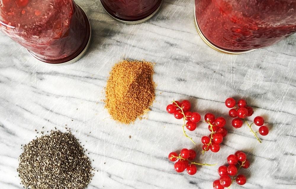 Recept: supersimpele gezonde aalbessenjam