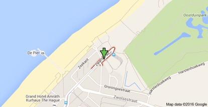 Strandtenten Zwarte Pad in Scheveningen