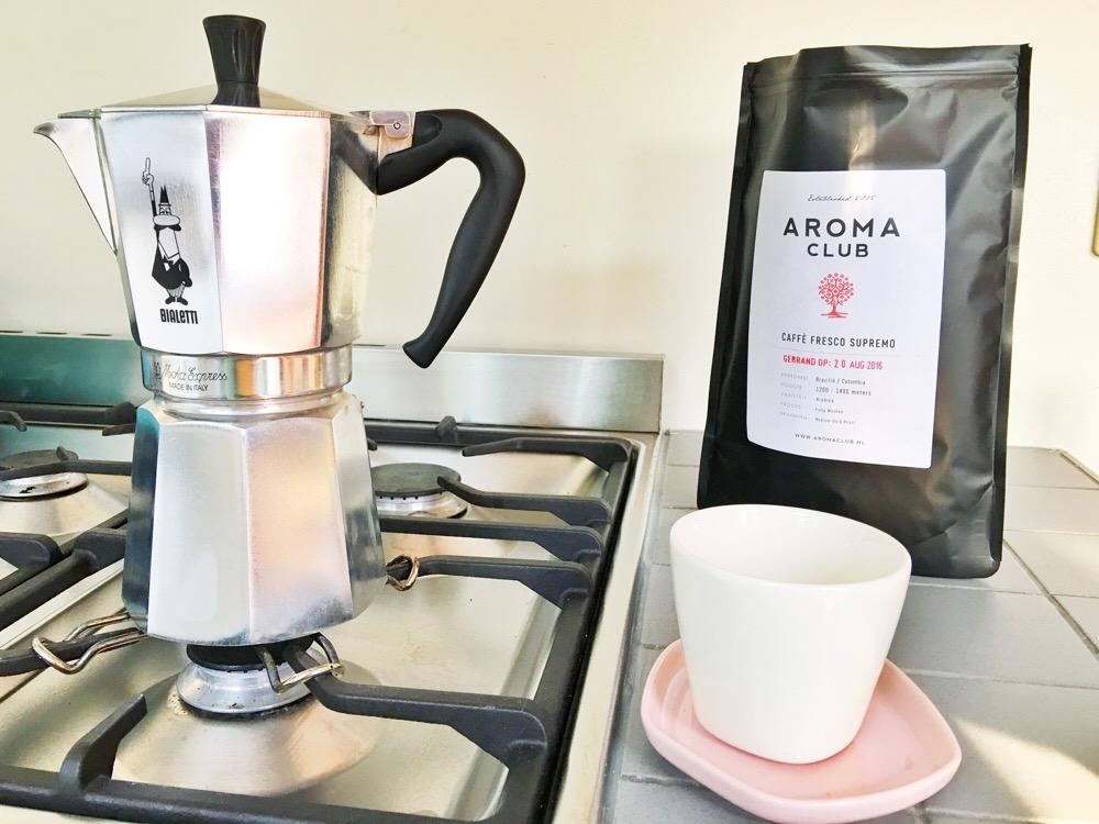 percolator koffie Aroma Club