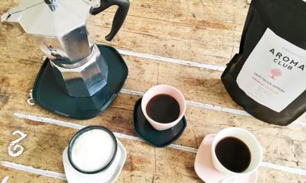 Aroma Club: verse koffie (cups, bonen of gemalen)
