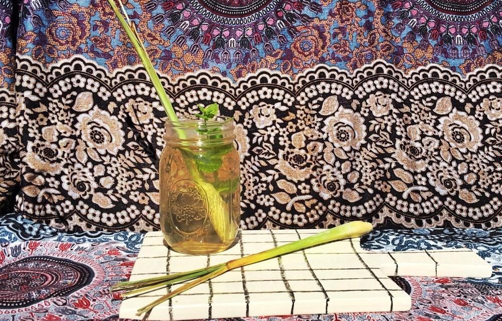 Recept: verse citroengras ijsthee