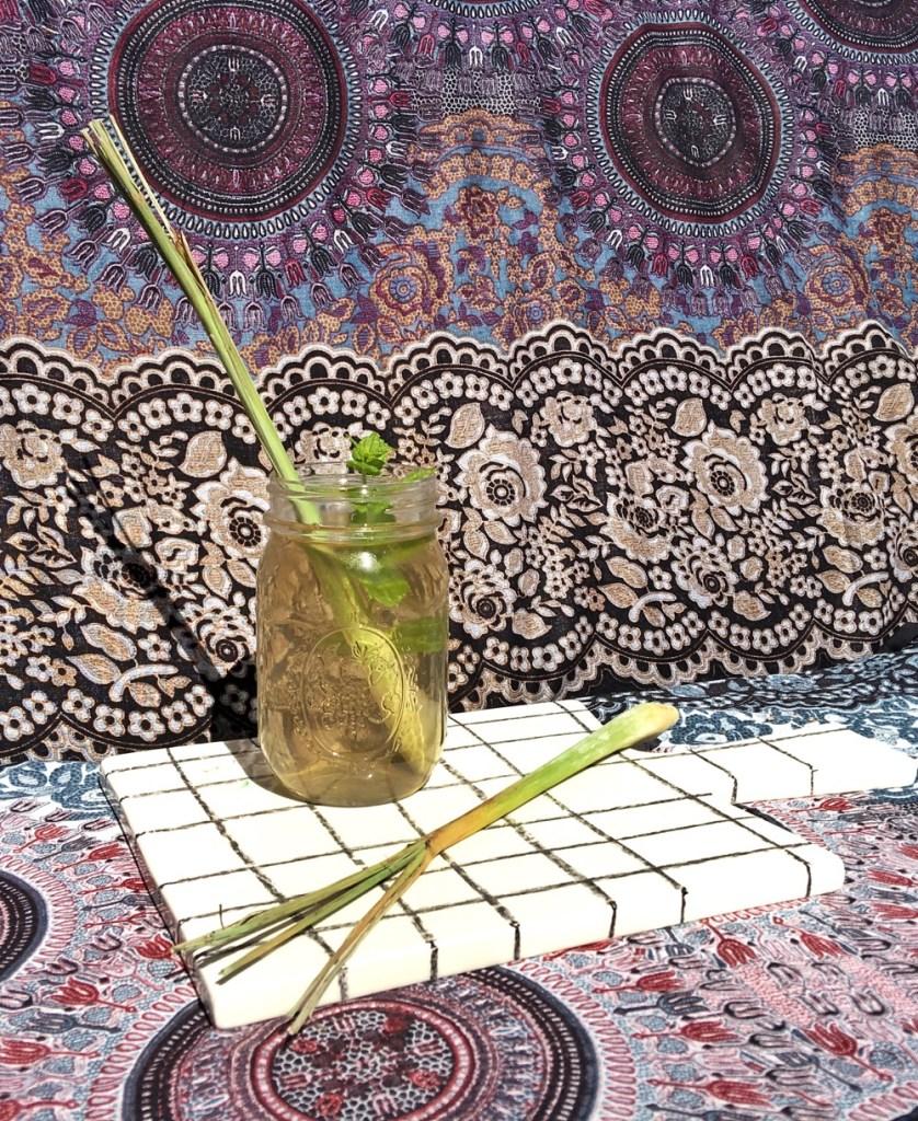 recept: citroengras ijsthee