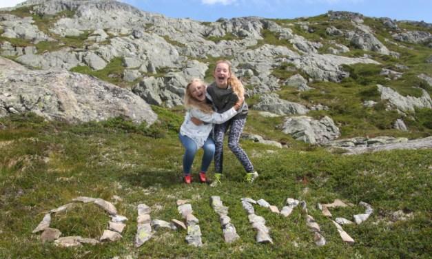 Hiken in Noorwegen met tieners