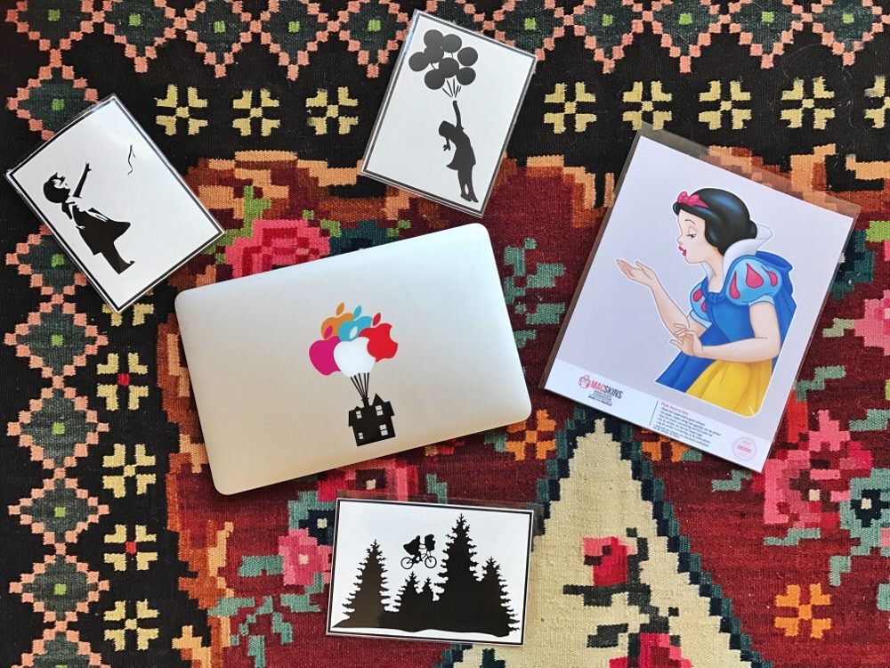 MacBook stickers