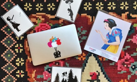 Handig: iPad en MacBook sticker shoptegoed