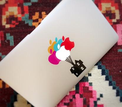 MacBook sticker UP 13 inch