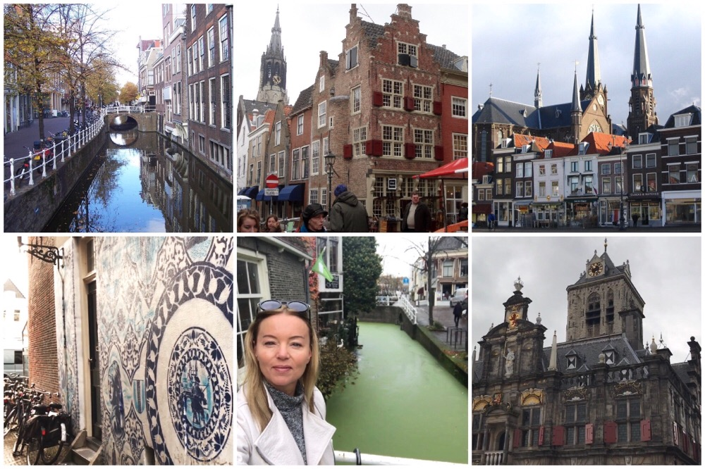 shoppen in Delft