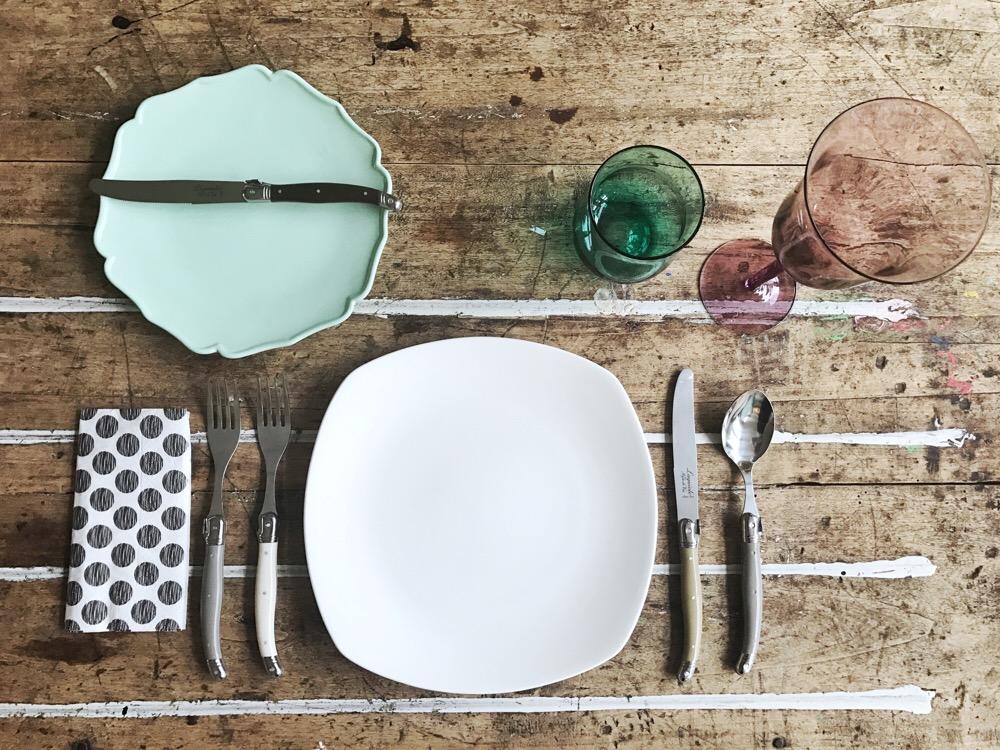 tafeldek etiquette voor lunch