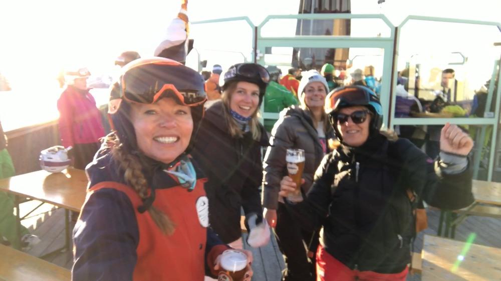 après ski in Kirchberg