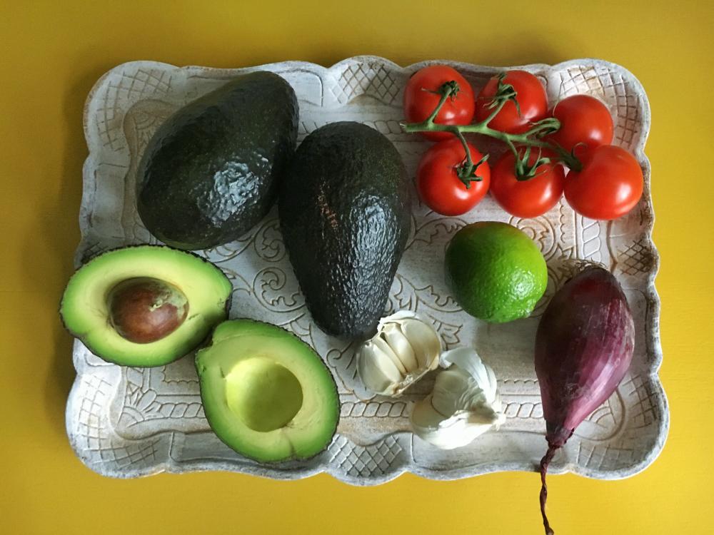 Gezonde guacamole start