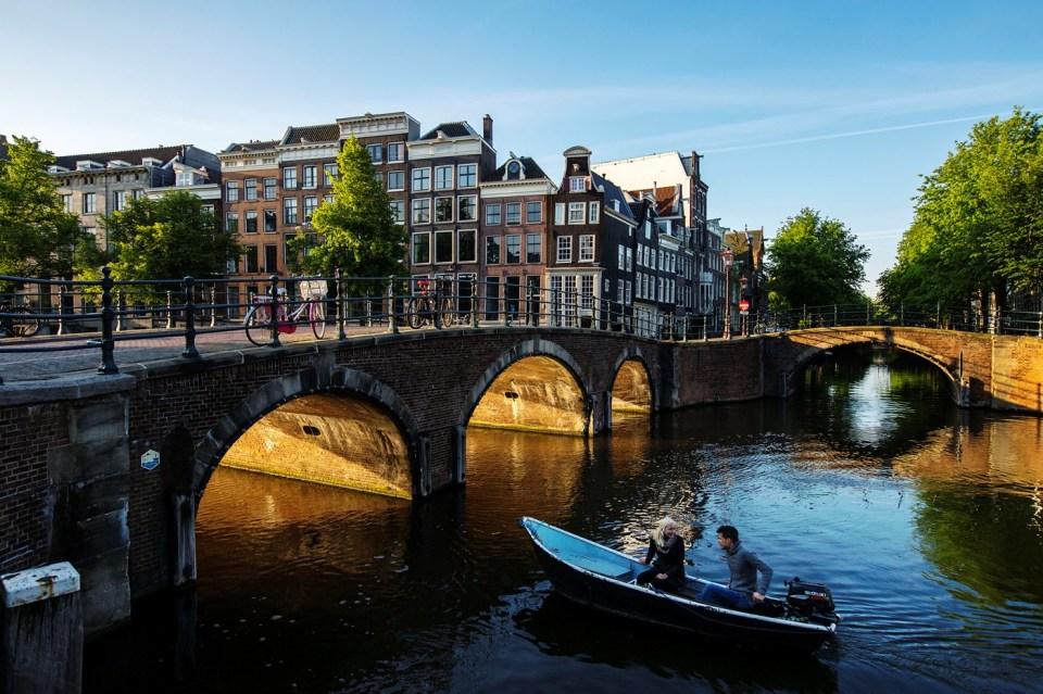rent a boat - Amsterdam