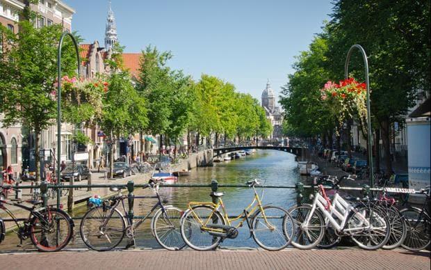public transport in Amsterdam - bike