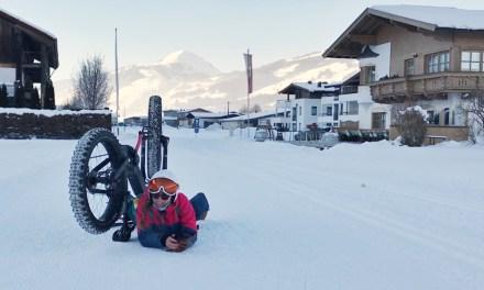 Doen in Kirchberg: fatbiken in de sneeuw
