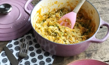 Histamine vrij recept: andijviestamppot met zoete aardappel