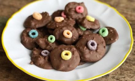 Tony Chocolonely Salted Caramel recept: cookies met Loops