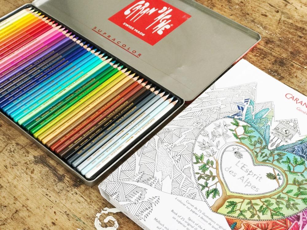 Caran d'Ache kleurset