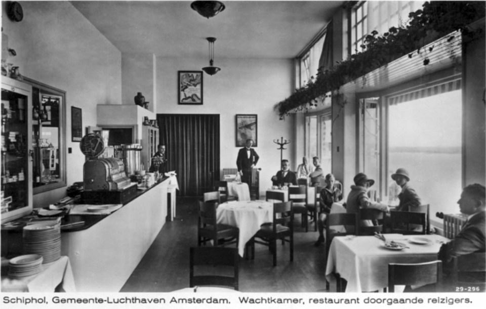 restaurant schiphol 1929
