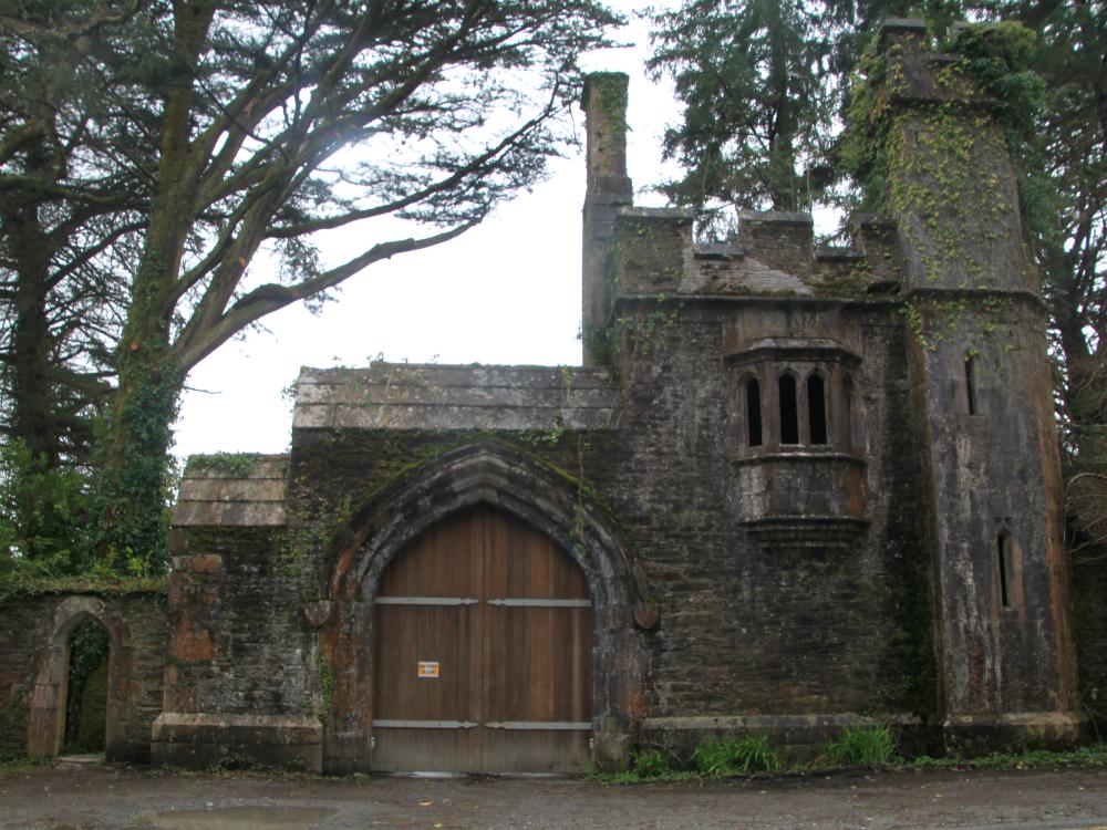 kasteelruine Ring of Kerry