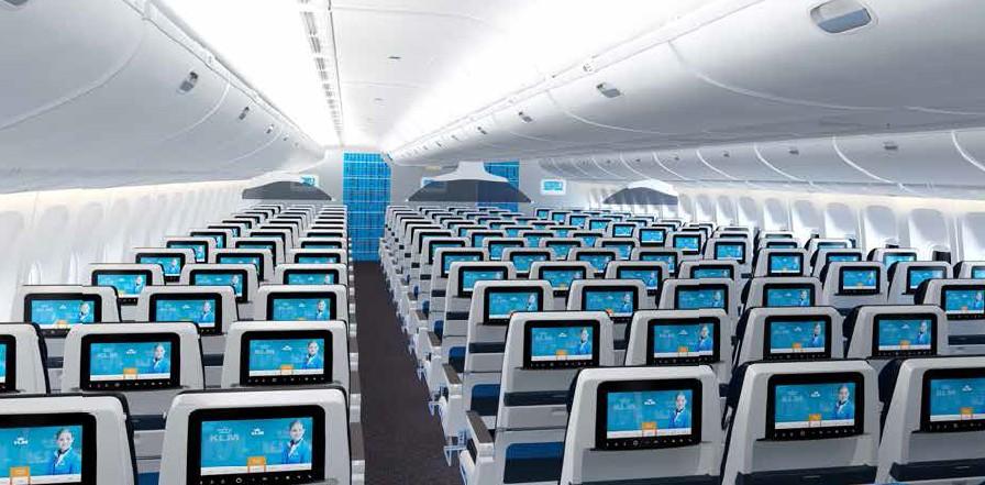 KLM Economy beste stoelen