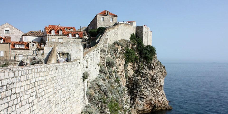 stadsmuur Dubrovnik