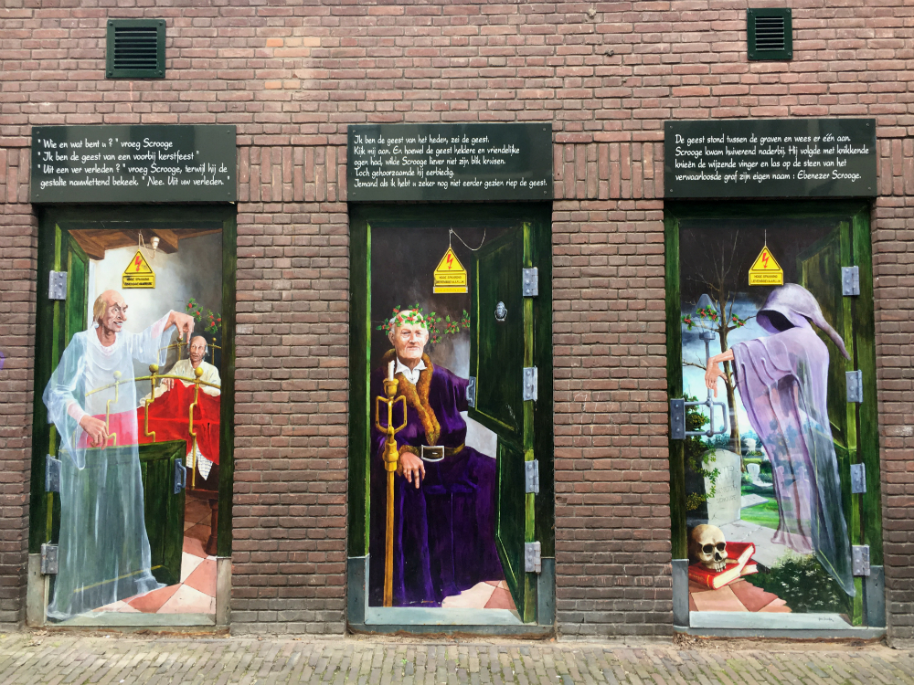 Dickens taferelen Walstraat Deventer