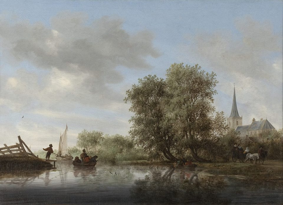 Roofkunst Bergkerk Deventer van Ruysdael