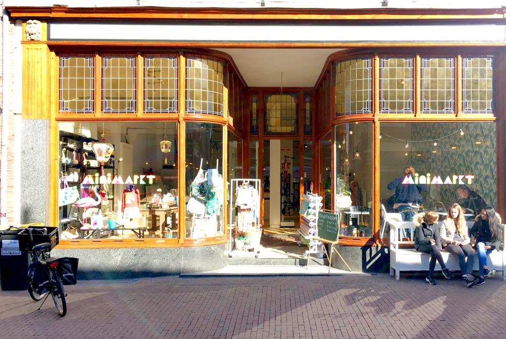 Minimarkt in Haarlem
