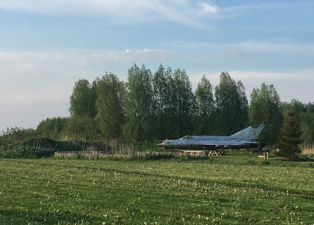 MIG Straaljager Net De Wildste Tuin Flevoland
