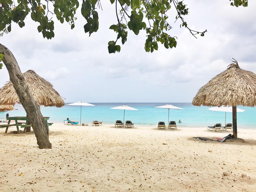 Natuurlijke stranden Curacao