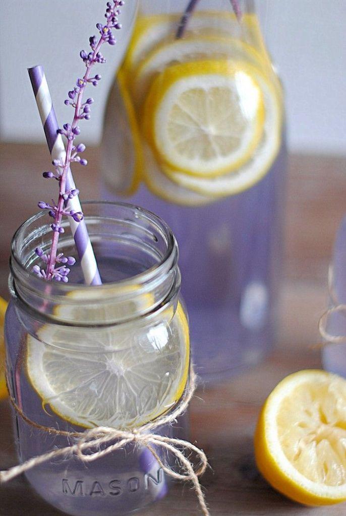 recept voor lavendel limonade