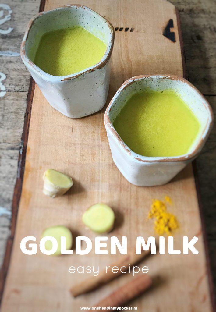 Hoe maak je golden milk? Eenvoudig recept