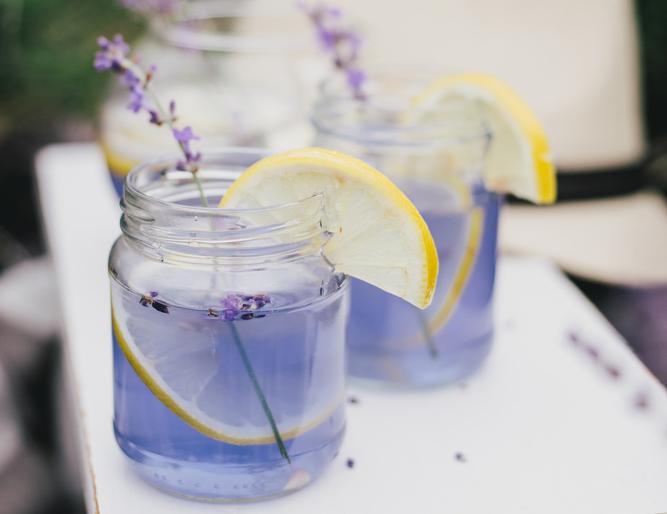 zelf lavendel limonade maken