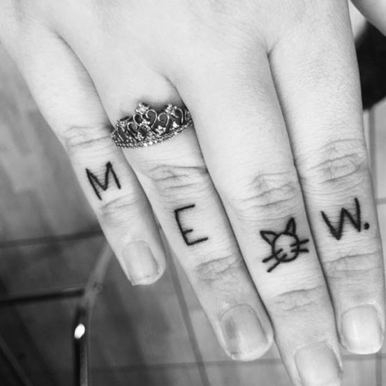 tatoeage van poes