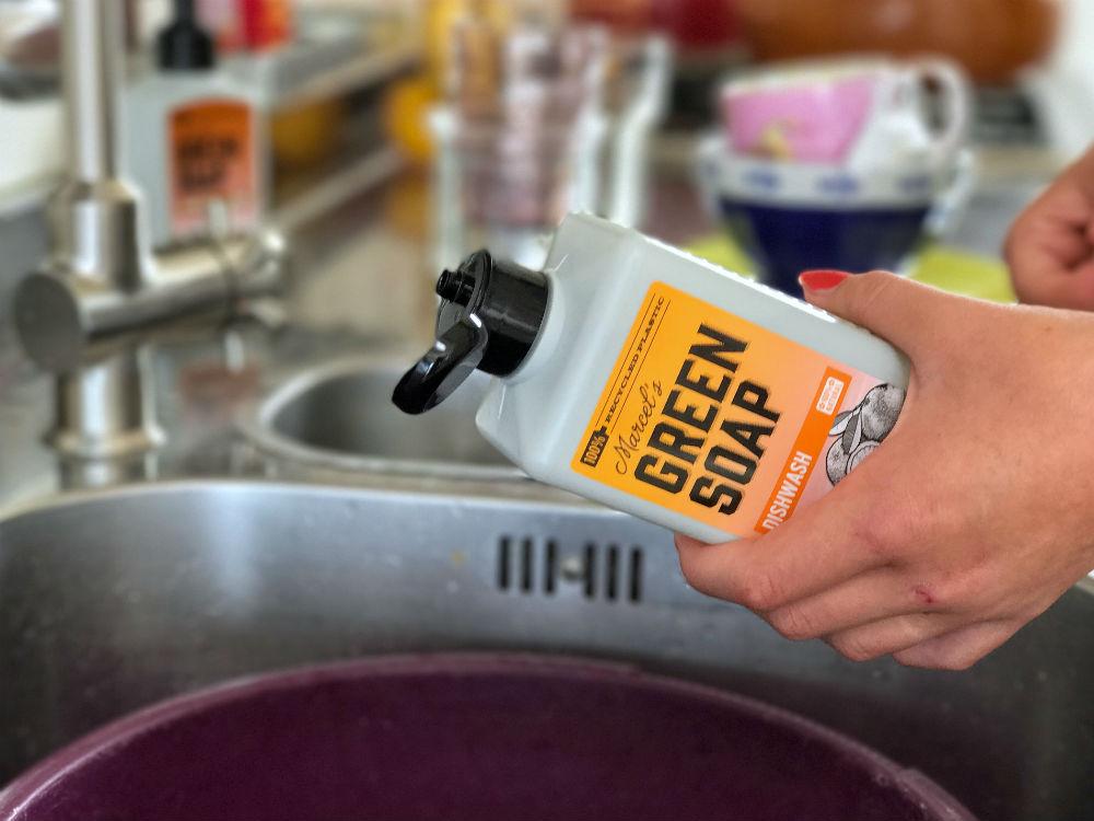 Green soap afwasmiddel