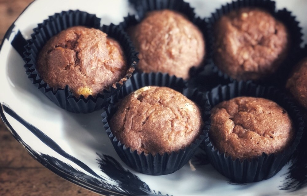 Herfstige mugcake en muffins met pompoen