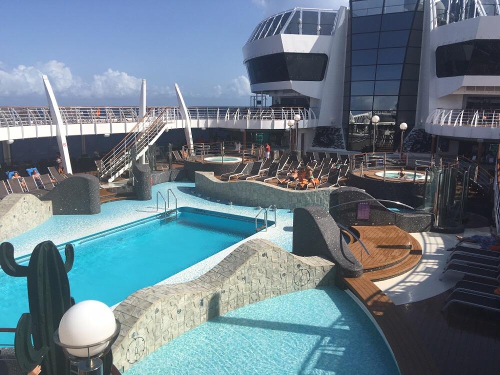 MSC cruises zwembad