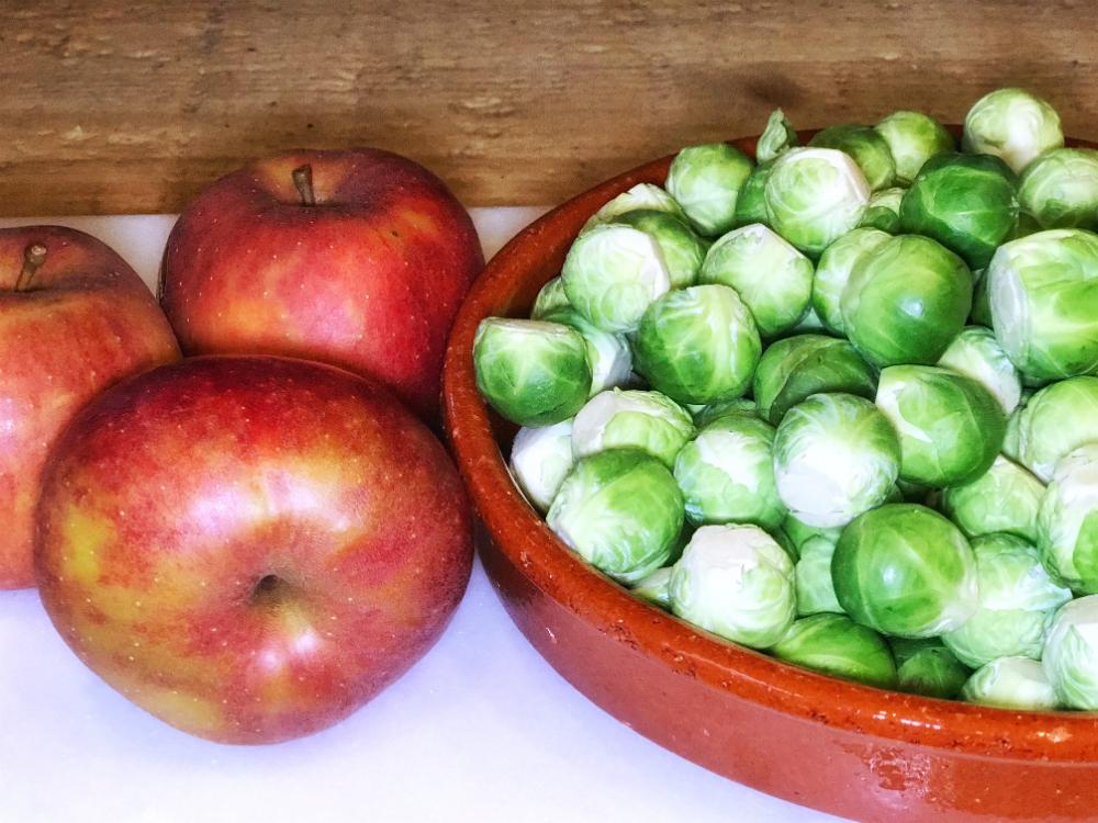 spruitjes en appel