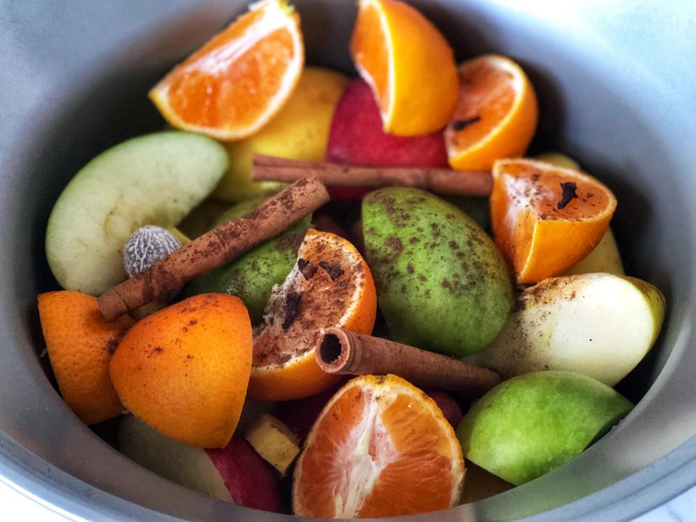 Hot apple cider ingredients